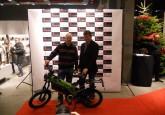 Benoît Frère, vainqueur du concours RTBF CASIO, a reçu son eTRICKS