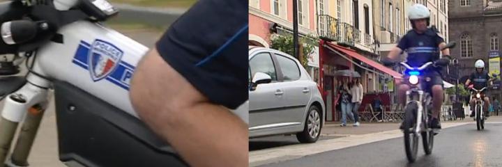 Issoire : la police municipale sur mobylettes électriques «made in Auvergne»