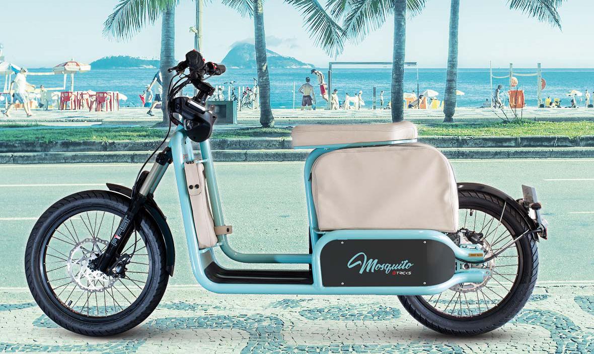 Mosquito, scooter électrique vintage by eTricks