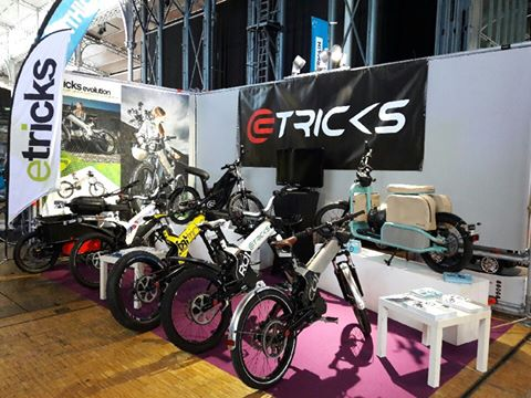 eTricks au salon Autonomy, festival de la mobilité urbaine du 6 au 9 octobre 2016