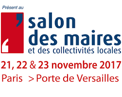 Rencontrez nous sur le Salon des maires et des collectivités locales à Paris !
