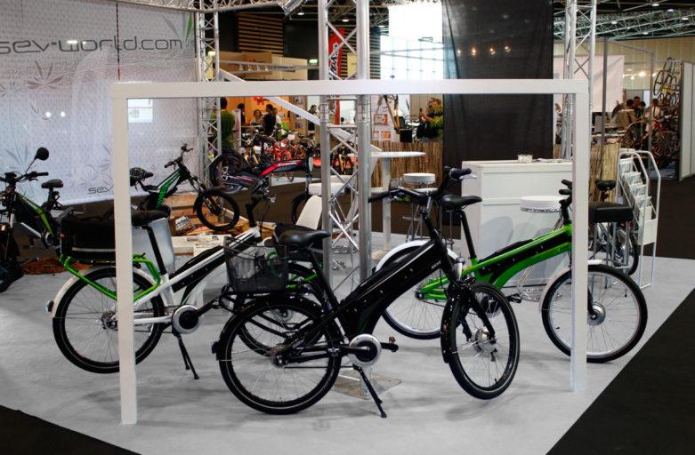 SEV Présence remarquée au Salon Air Bike à Lyon